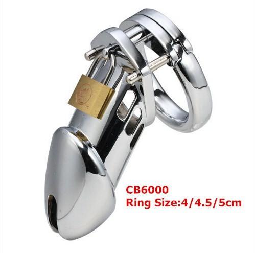 Khóa dương vật CB6000 loại thép không gỉ (inox 304)